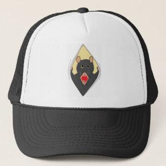 Rata en un gorra