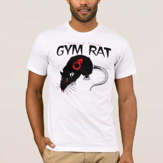 Rata principal del gimnasio del músculo camiseta