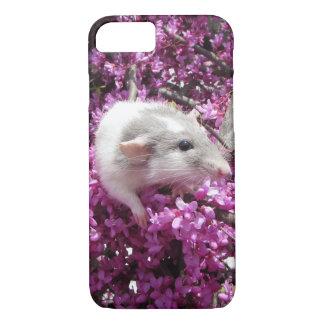 Rata Rahab del mascota en flores Funda iPhone 7