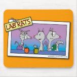 Ratas Mousepad del laboratorio Alfombrilla De Ratones