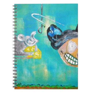 Ratón maníaco cuaderno