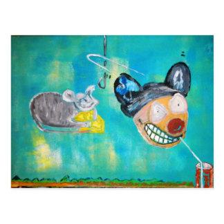 Ratón maníaco postal
