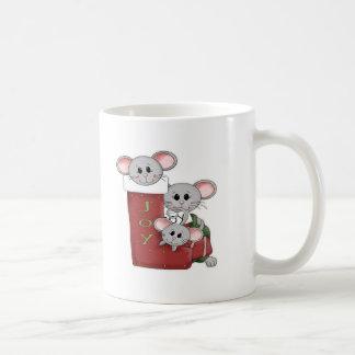 Ratones alegres taza