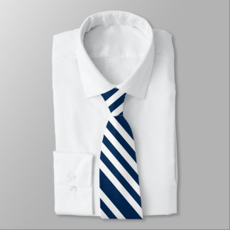 Raya de la marina de guerra corbata personalizada