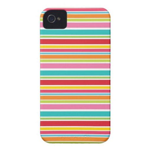 Raya del arco iris Case-Mate iPhone 4 protector