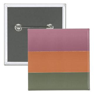 Raya del color del final de tres metales - añada a pins