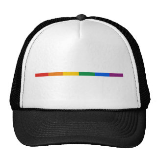 Raya del orgullo gay gorras
