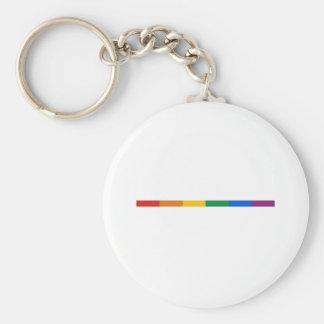 Raya del orgullo gay llavero