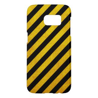 Raya del peligro del Grunge Funda Samsung Galaxy S7