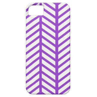 Raya púrpura del enrejado funda para iPhone SE/5/5s