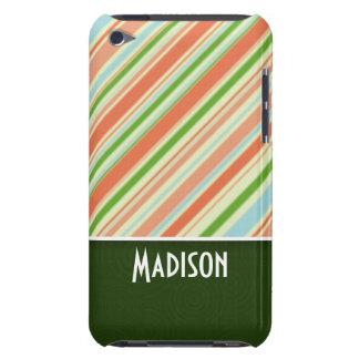 Rayado lindo iPod touch Case-Mate carcasas