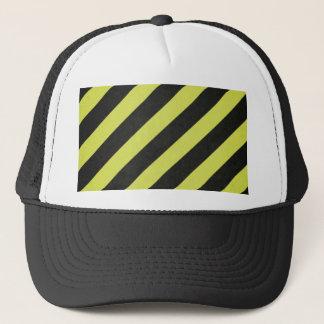 Rayas amonestadoras gorra de camionero