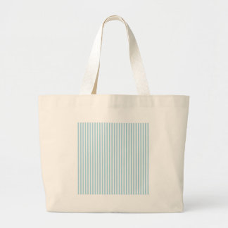Rayas - blancas y azules claras bolsas de mano