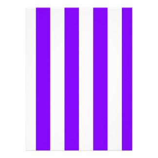 Rayas - blanco y violeta comunicado