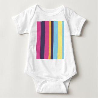 Rayas bolivianas body para bebé