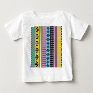 Rayas bolivianas camiseta de bebé