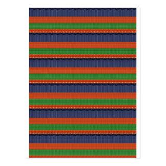 Rayas coloridas de la SOMBRA OSCURA elegante REGA