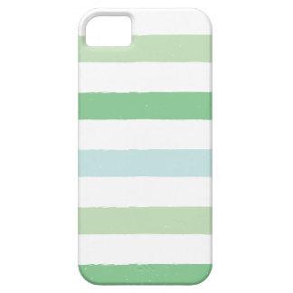 Rayas coloridas del Grunge iPhone 5 Protector