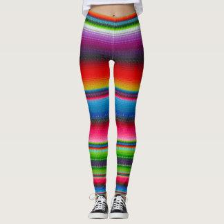 Rayas coloridas leggings