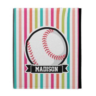 Rayas coloridas; Softball personalizado