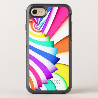 Rayas curvadas fractal funda OtterBox symmetry para iPhone 8/7
