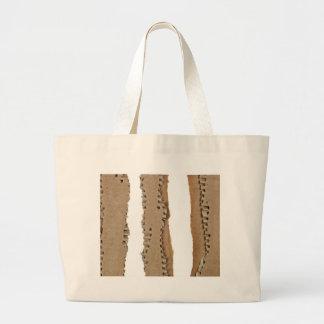 Rayas de la cartulina acanalada bolsas