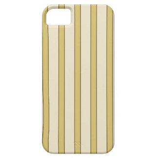 Rayas de oro iPhone 5 Case-Mate fundas
