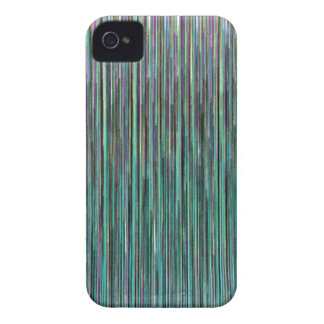 Rayas de Techno iPhone 4 Case-Mate Cobertura