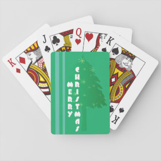 Rayas del árbol barajas de cartas
