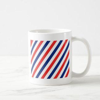 Rayas del peluquero taza de café