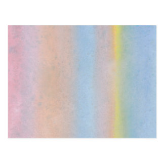 Rayas en colores pastel postal