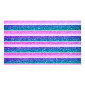 Rayas en colores pastel plantilla de tarjeta de negocio