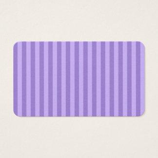 Rayas finas - violetas y violadas claras tarjeta de negocios