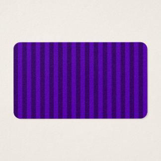 Rayas finas - violetas y violeta oscura tarjeta de negocios
