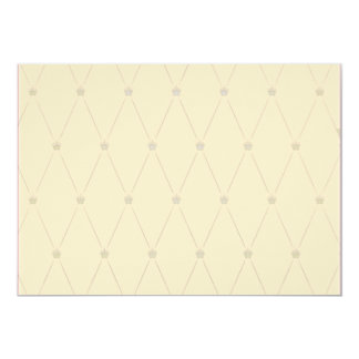 Rayas grises elegantes en el regalo de color caqui invitación 12,7 x 17,8 cm