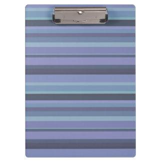 rayas horizontales Azul-grises