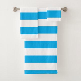 Rayas horizontales azules