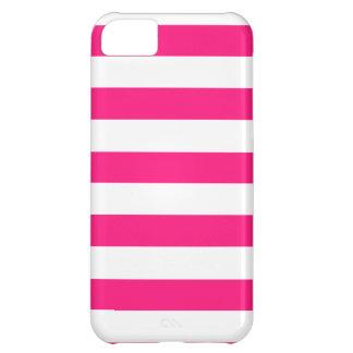 Rayas horizontales de color rosa oscuro