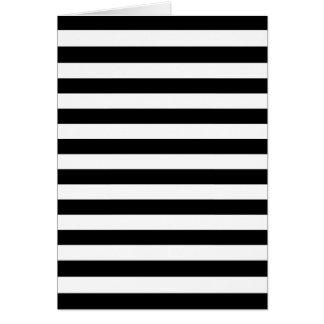 Tarjetas e invitaciones rayas negras horizontales - Rayas horizontales ...