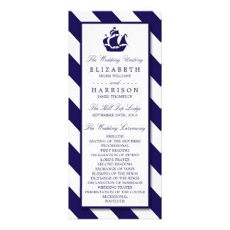Rayas náuticas y boda de la nave de los azules lonas