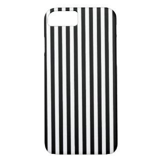 Rayas negras del blanco de n funda iPhone 7