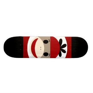 Rayas negras frescas del rojo del gorra de la gorr monopatín 21,1 cm