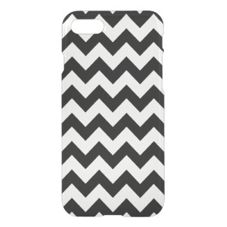 rayas negras y claras del galón funda para iPhone 7