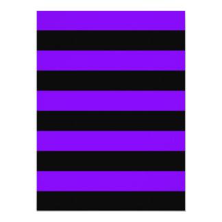 Rayas - negro y violeta anuncio