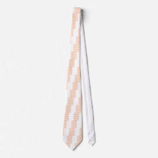 Rayas rosa corbata personalizada