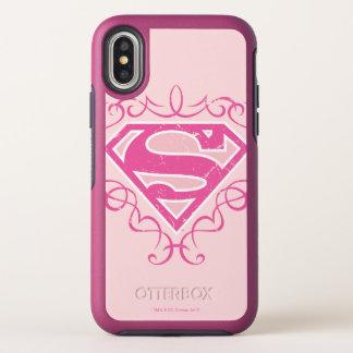 Rayas rosadas de Supergirl