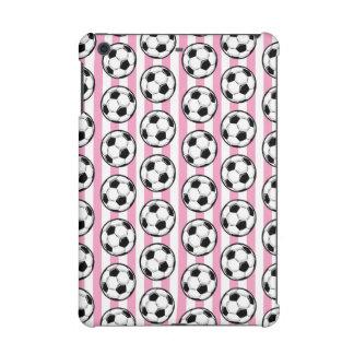 Rayas rosadas del balón de fútbol
