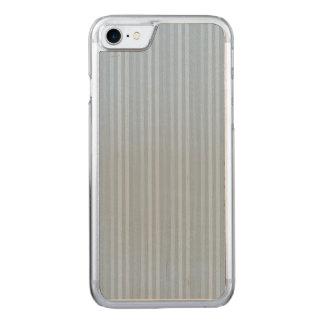 Rayas verticales de los azules cielos en colores funda para iPhone 8/7 de carved