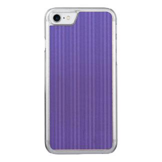 Rayas verticales del azul de cobalto funda para iPhone 8/7 de carved