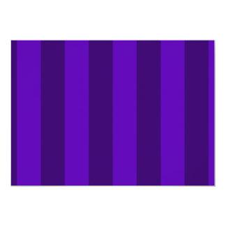 Rayas - violetas y violeta oscura anuncio personalizado
